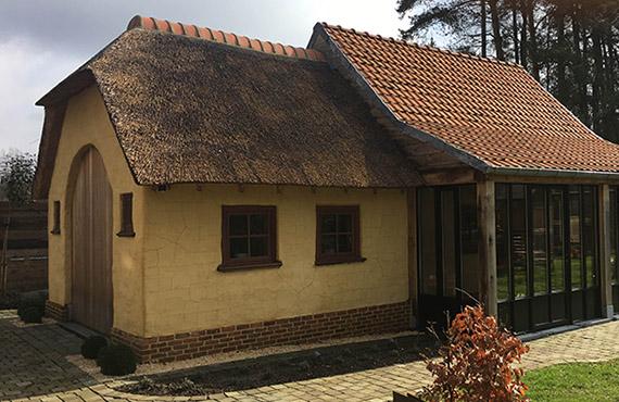 Rieten daken raggers rietdekker met pure ambacht.